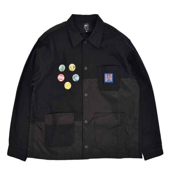 Brain Dead Panelled Chore Coat Jacket