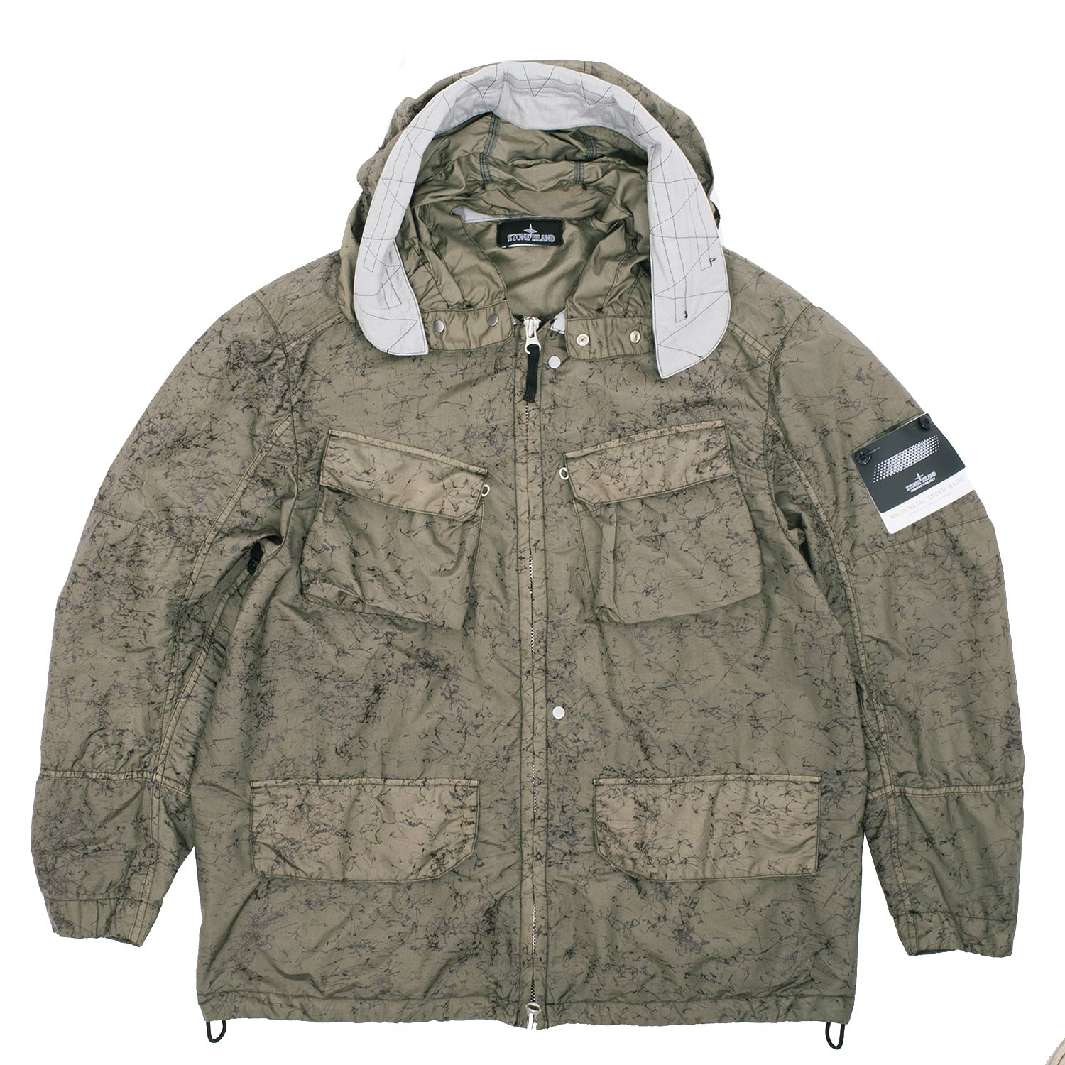 Spider Hooded Jacket Stone Island Discount Footaction Cheap Cost Outlet 2018 Newest Free Shipping Sale Online ZgCgz
