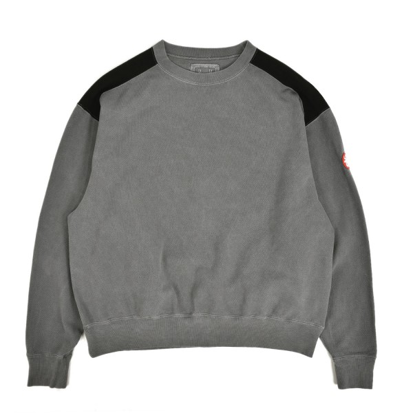 Cav Empt Panel Shoulder Light Crewneck