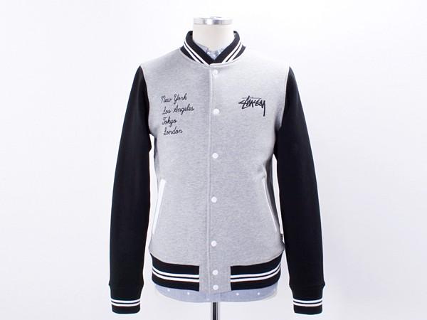 Stussy East West Varsity Jacket
