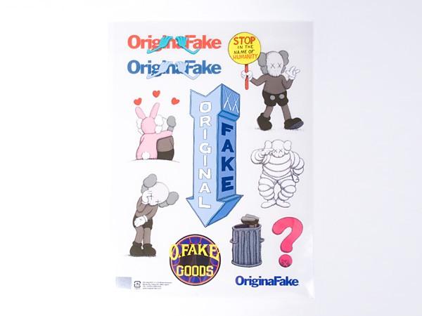 Original Fake Sticker Sheet
