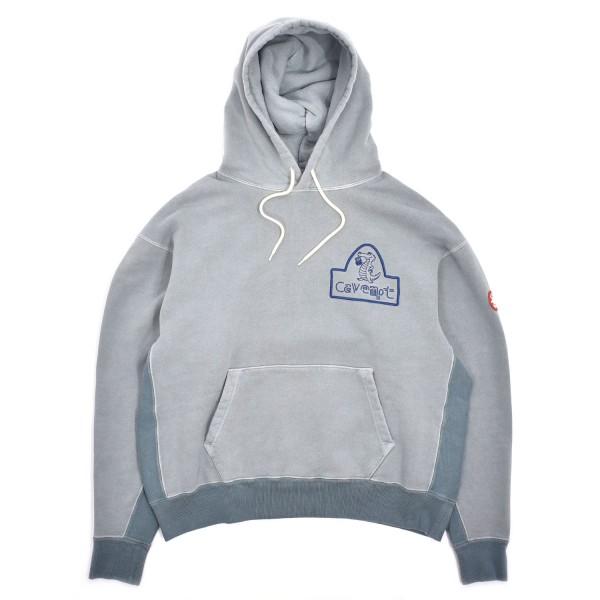 Cav Empt Overdye Alligator Heavy Hooded Sweatshirt